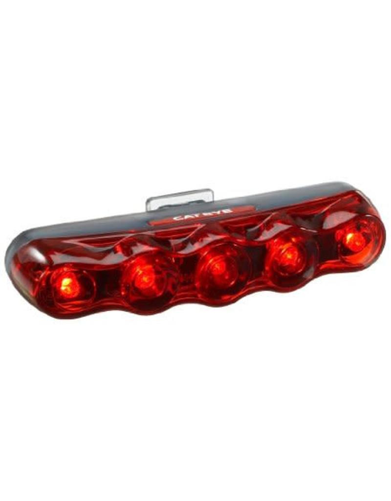 Cateye TL-LD610 REAR LIGHT: BLACK