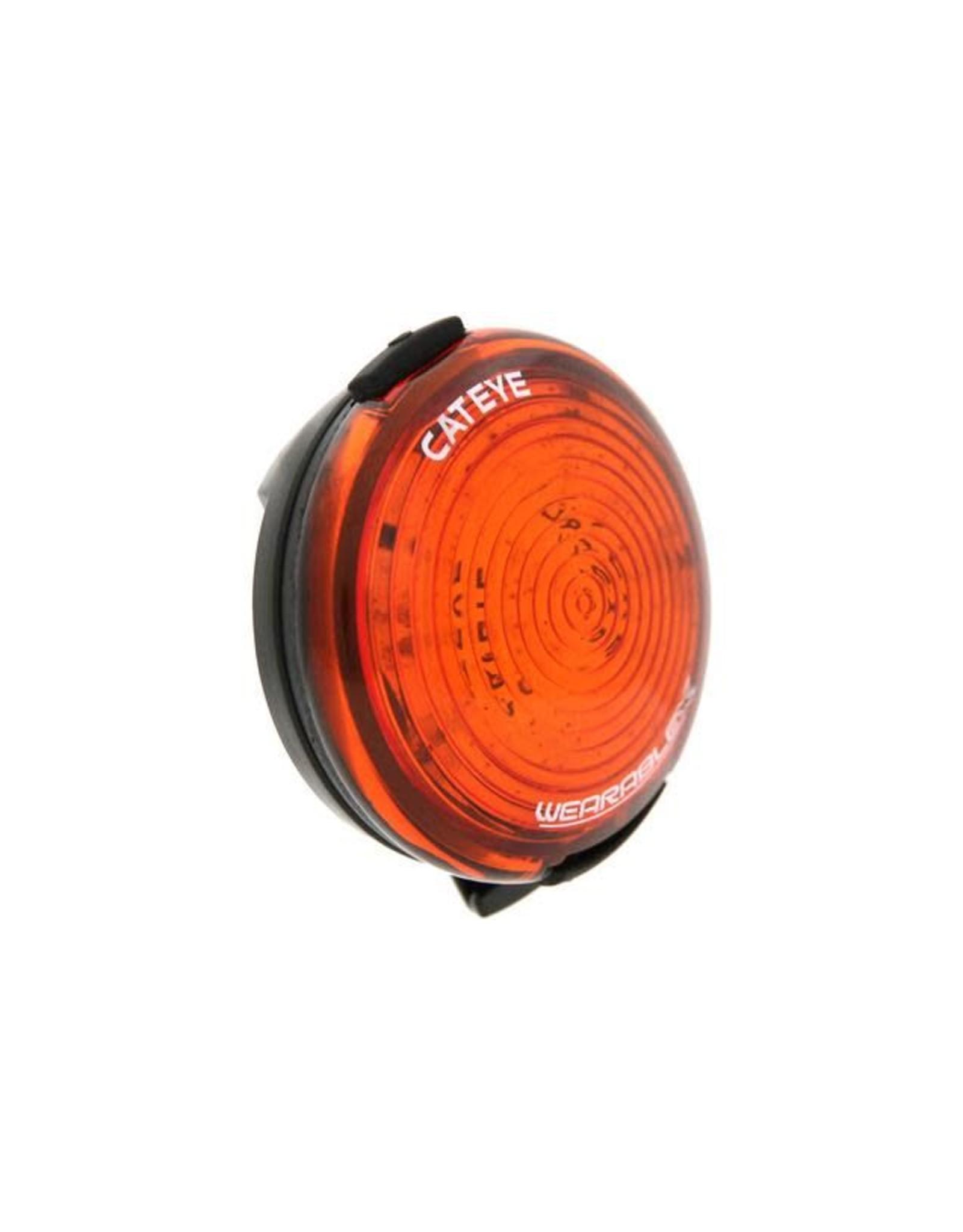 Cateye WEARABLE X REAR USB RECHARGEABLE LIGHT: