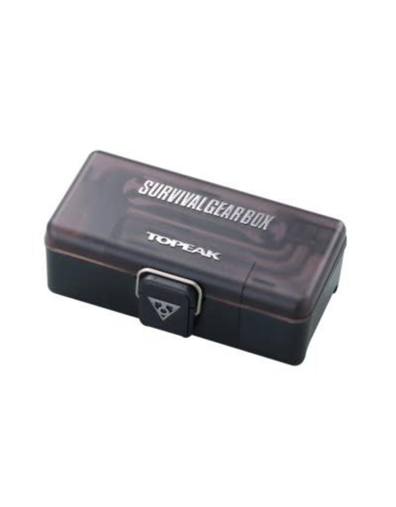 Topeak TOPEAK SURVIVAL GEAR BOX W/CLAMP