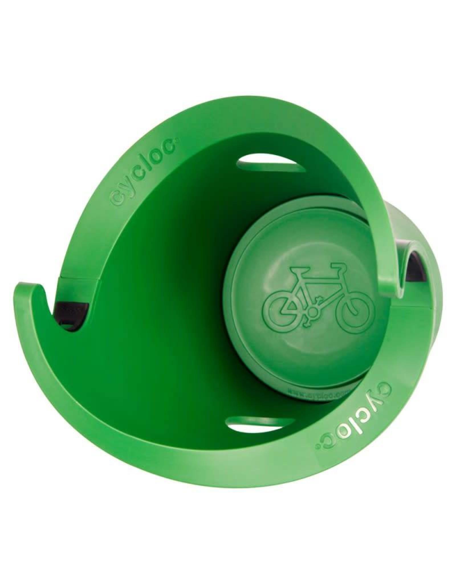 Cycloc SOLO WALL BRACKET GREEN