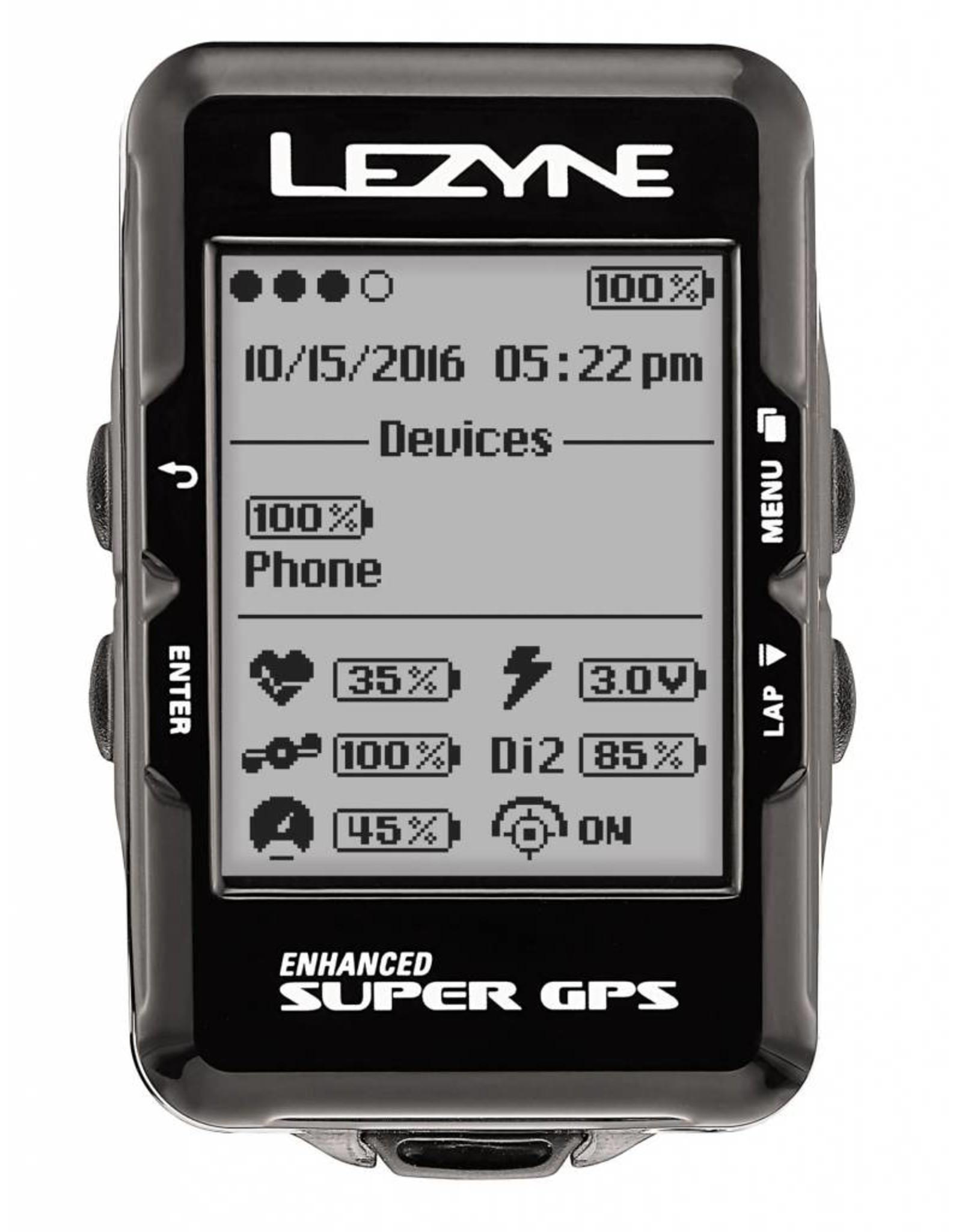 Lezyne Super Navigate GPS Loaded Bundle