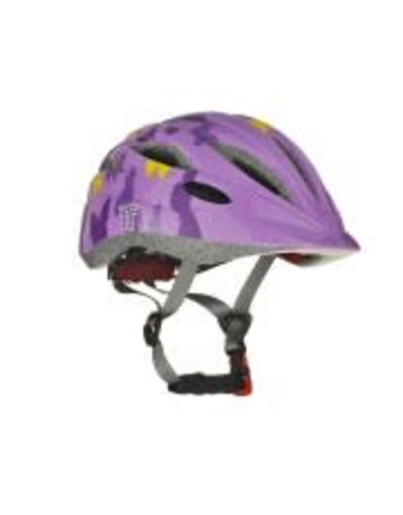 Tuzii PYXIS Purple Butterfly In-Mold Kids Helmet S