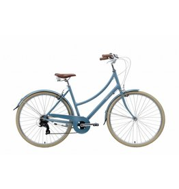 Bobbin Brownie 7 Speed Hybrid Bike Moody Blue 700 / 52