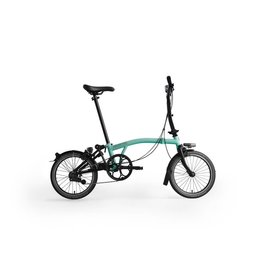 Brompton Black Edition M6LU Black / Turkish Green