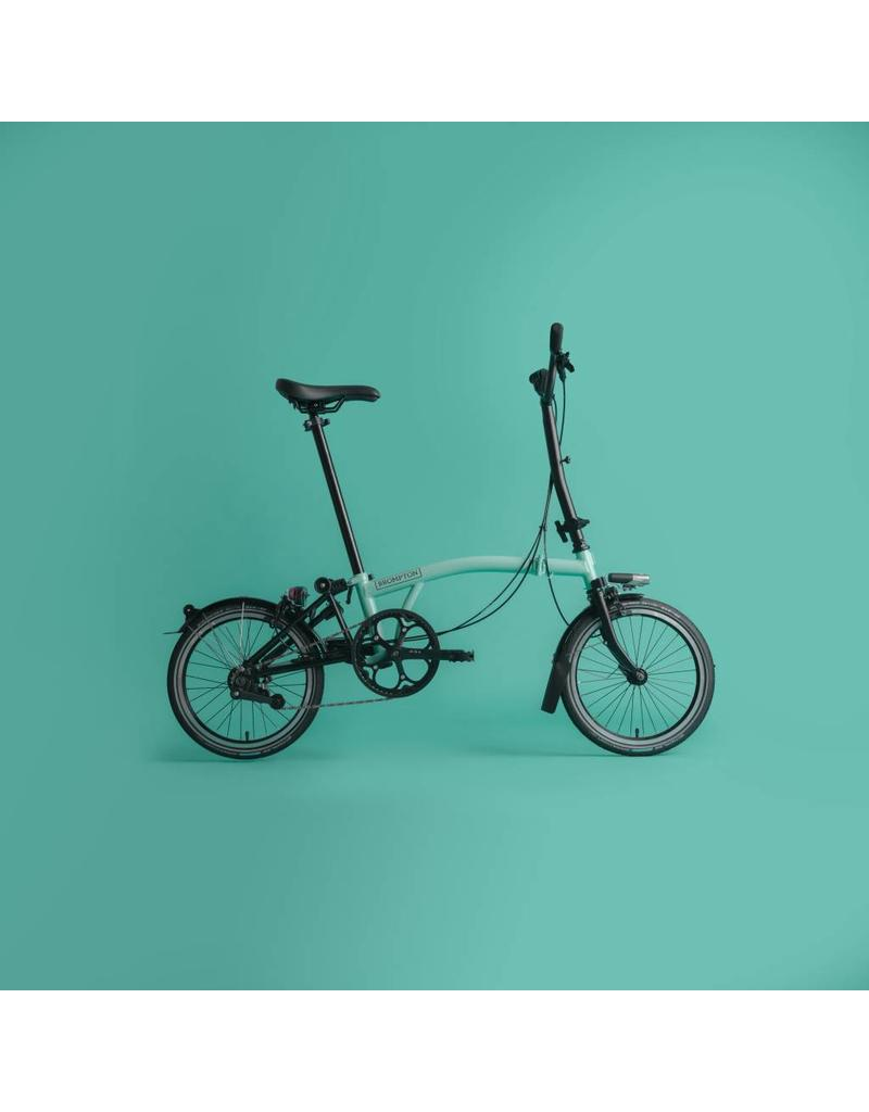 Brompton Black Edition M2LU Black / Turkish Green