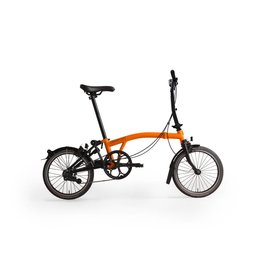 Brompton Black Edition M2LU - Orange