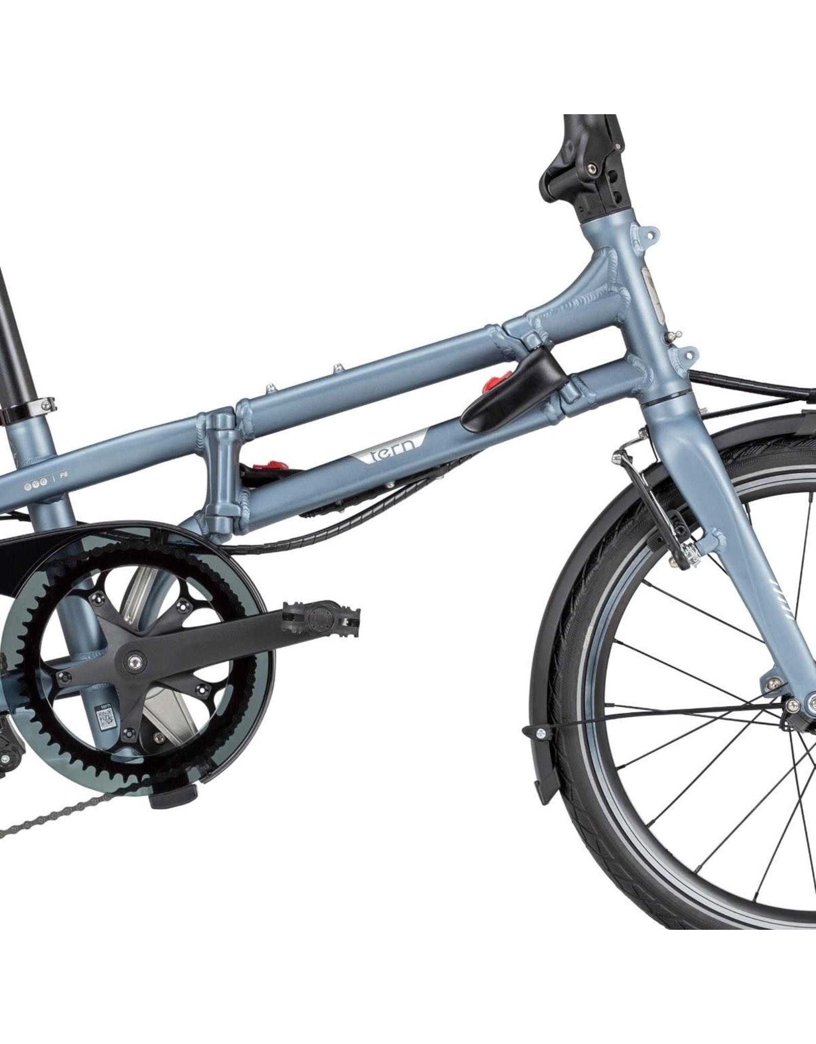 """Tern BYB P8 Folding Bike 20"""" Matte Blue"""