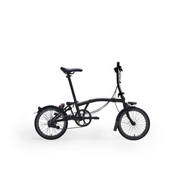 Brompton Black Edition S6L - Gloss Black