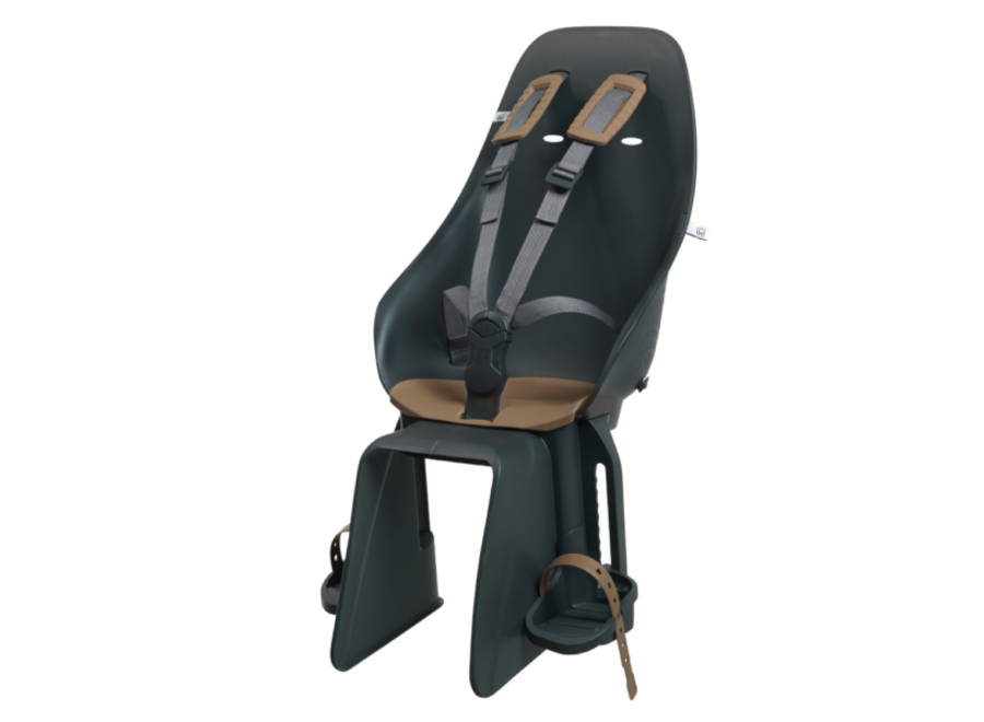 Bincho Rear Seat with Rack Mount - Koge Brown / Bincho Black V2