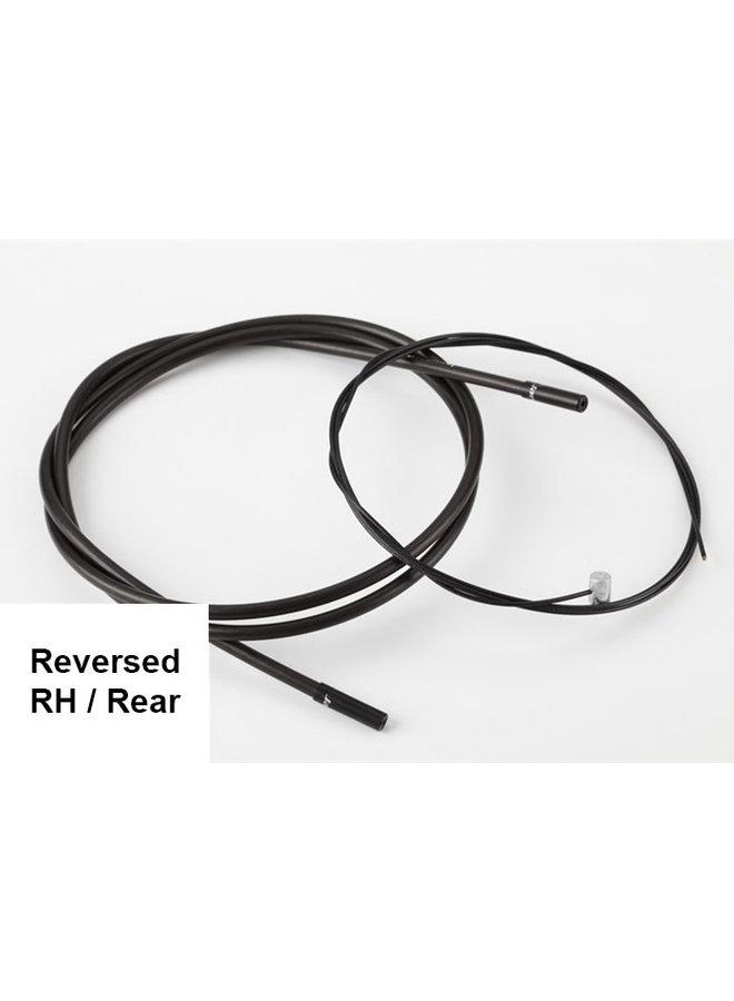 Brake cable rear - M Type (Reversed)
