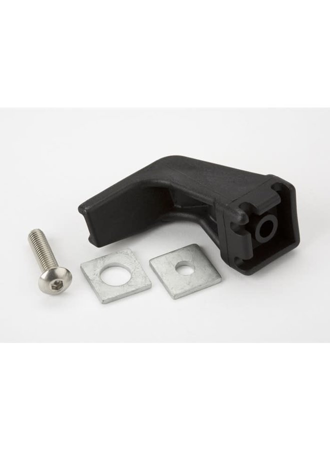 Front axle hook + fittings only - L/R version
