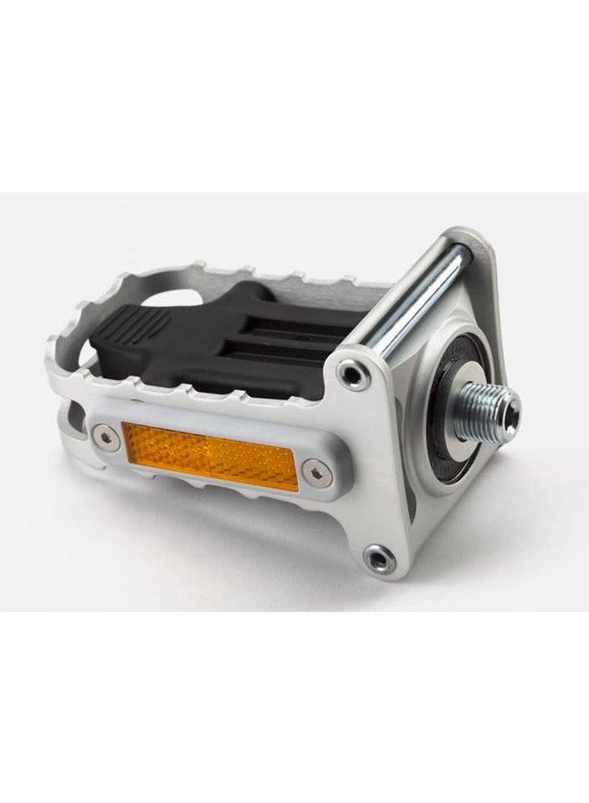 Pedal - Folding - LH (Silver)