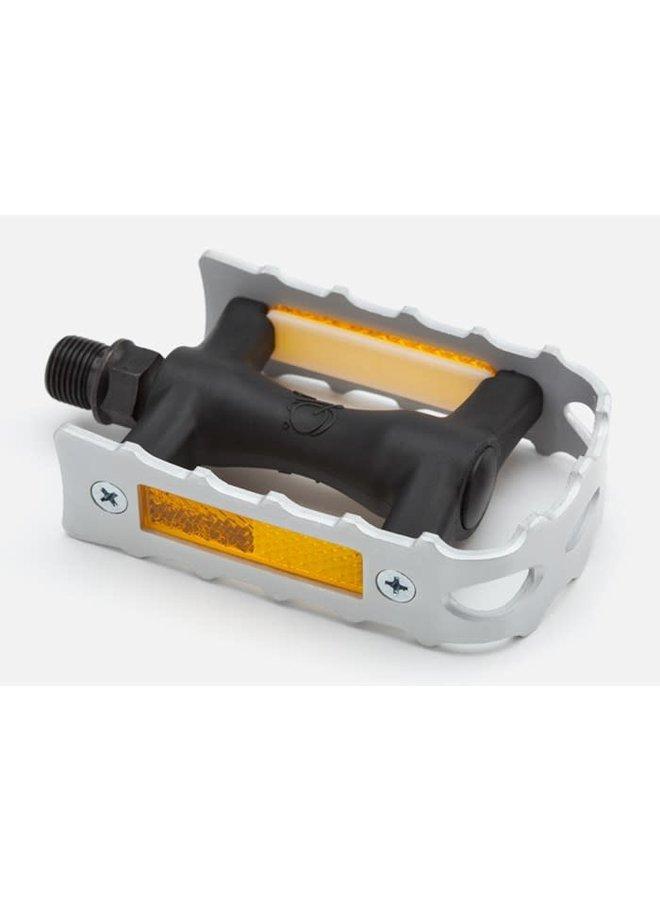 Pedal - Non folding - RH (Silver)