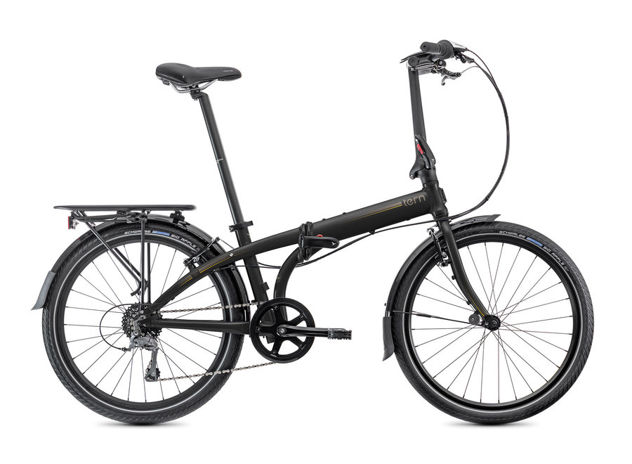 Node D8 Folding Bike Black