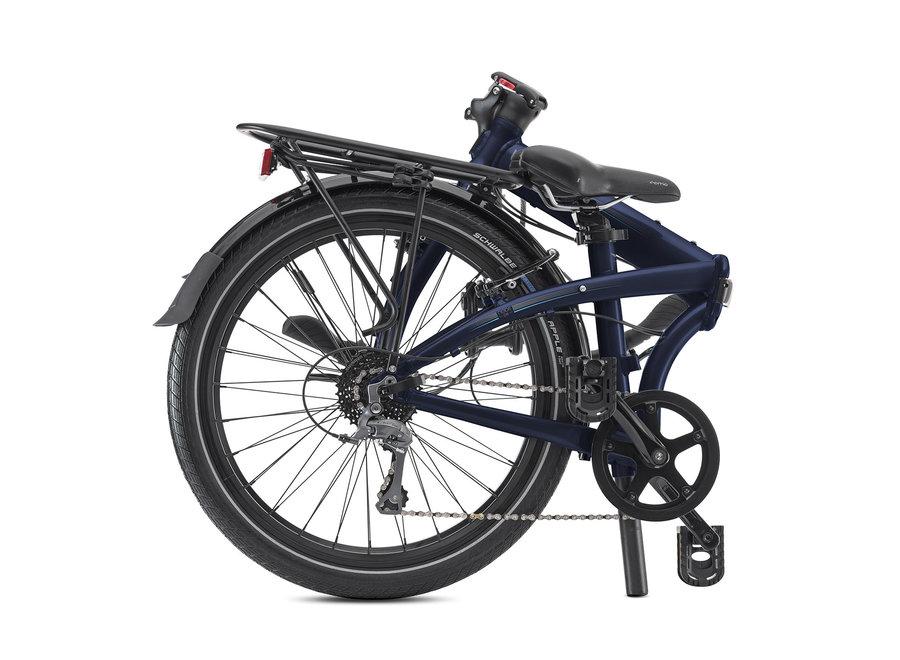 Node D8 Folding Bike Midnight Blue