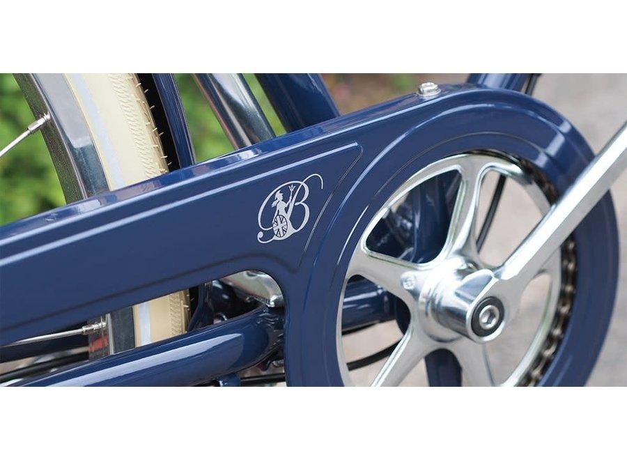 "Britannia 8 Speed Oxford Blue 17.5"""