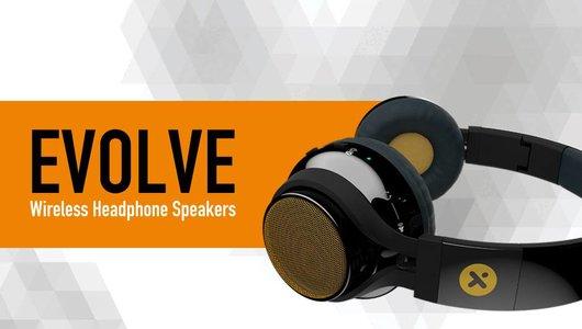 X-mini EVOLVE bluetooth headphone and minispeakers