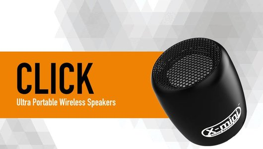 X-mini CLICK bluetooth minispeaker