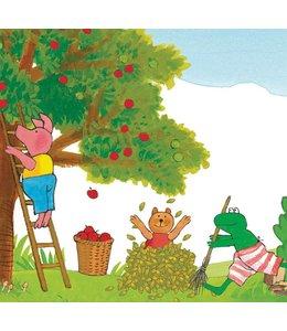 Kikker / Frog Fototapete Frog Picking Apples