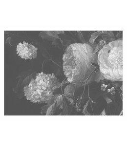 Fototapete Black & White Flowers