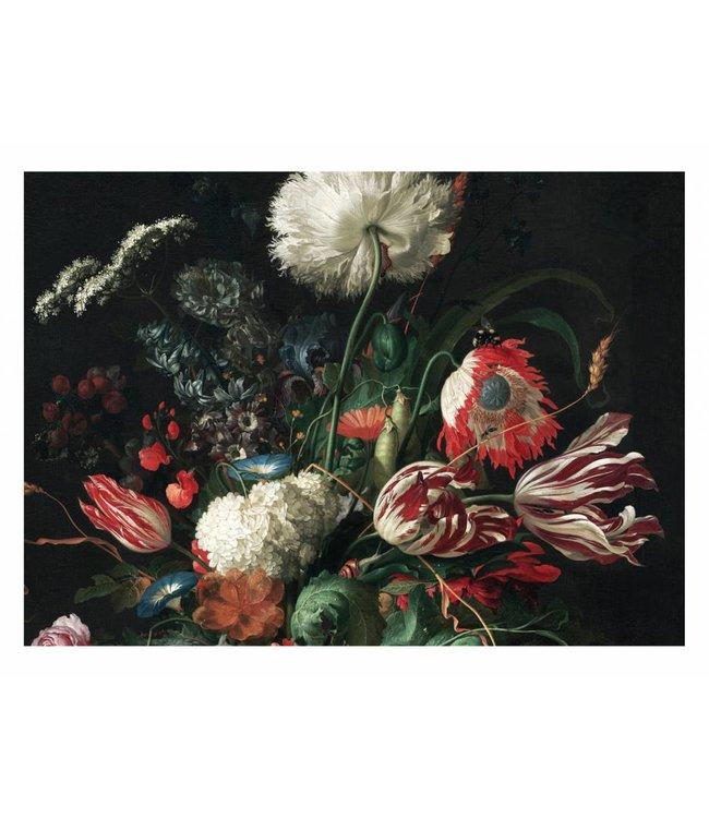 Fototapete Golden Age Flowers 1, 389.6 x 280 cm