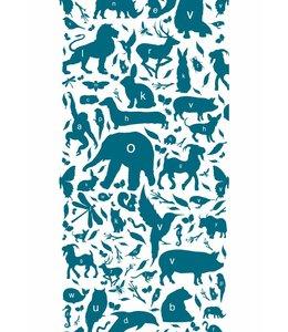Tapete ABC Animals, Petrol