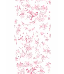 Tapete Birds & Blossom, Rosa