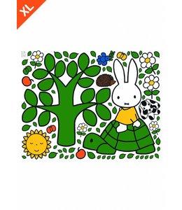 Nijntje / Miffy Miffy riding on turtle XL