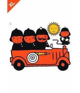 Nijntje / Miffy Dick Bruna's fire brigade XL