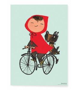 Fiep Westendorp Riding my Bike, Grun