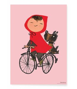 Fiep Westendorp Riding my Bike, Rosa