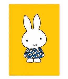 Nijntje / Miffy Poster Miffy with blue flower dress