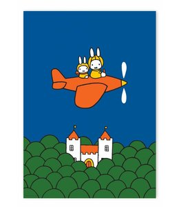 Nijntje / Miffy Poster Miffy flying