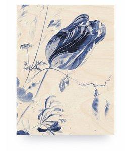 Royal Blue Flowers 1, M