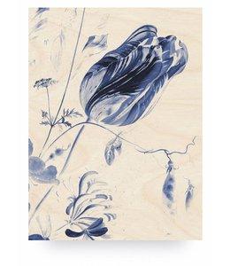 Royal Blue Flowers 1, L