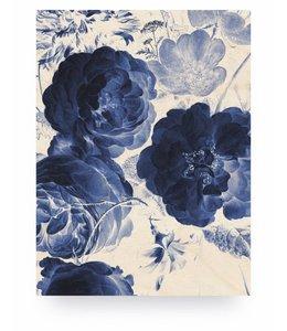 Royal Blue Flowers 2, M