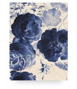 Royal Blue Flowers 2, L