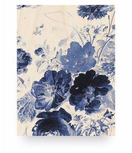 Royal Blue Flowers 3, S