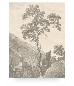 Engraved Tree, L