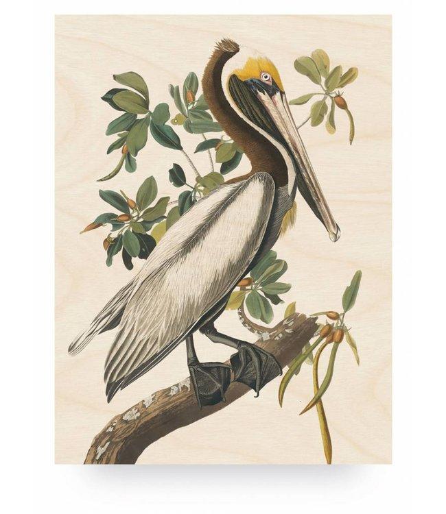 Holzbilder, Pelican, L, 75 x 100 cm