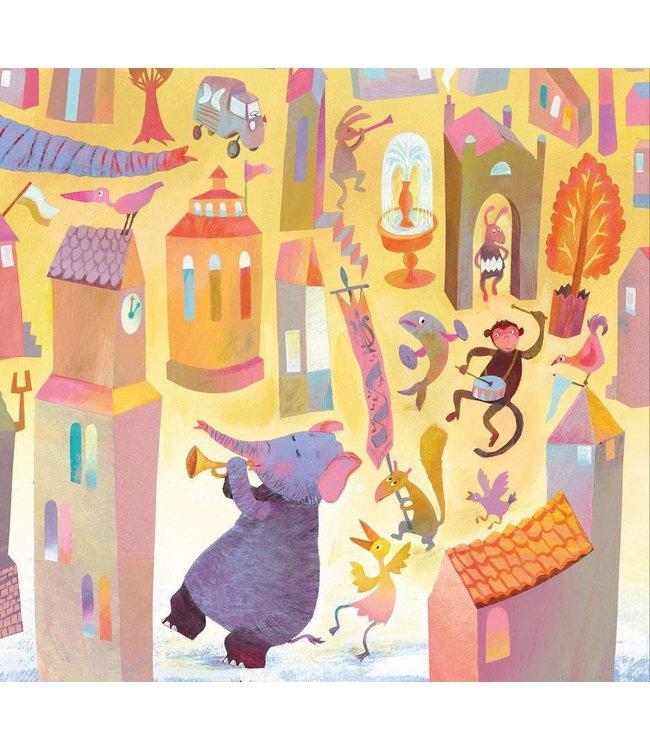 Alice Hoogstad Fototapete für Kinderzimmer Parade, 292.2 x 280 cm