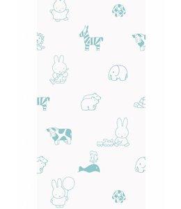 Dick Bruna Miffy tapete Animals, Mint