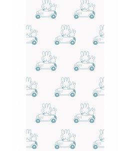 Dick Bruna Miffy tapete Cars, Blau