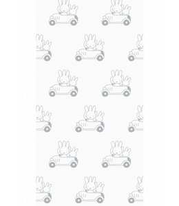 Dick Bruna Miffy tapete Cars, Gris
