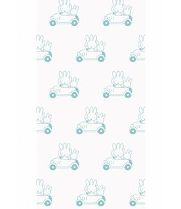 Dick Bruna Miffy tapete Cars, Mint