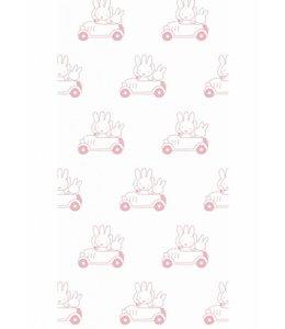 Dick Bruna Miffy tapete Cars, Rosa
