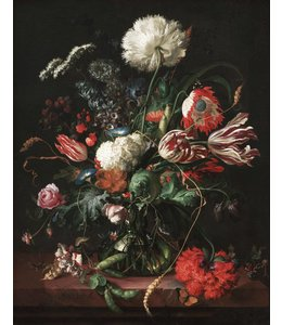 Tapetenpaneel Golden Age Flowers