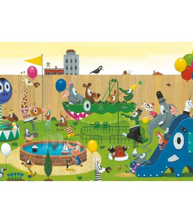 Fototapete Playground, 389.6 x 280 cm