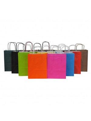 50x Papieren tassen 25x11x32cm