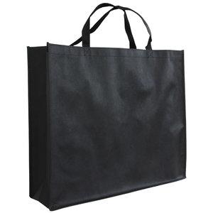 Shopper Zwart non woven 54x14x45cm